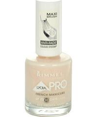 Rimmel London Lycra Pro French Manicure 12ml Lak na nehty W - Odstín 433 French Ivory