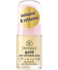 Dermacol Gold Anti-Wrinkle Base 15ml Přípravek proti vráskám W