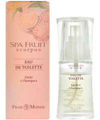 Frais Monde Spa Fruit Litchi And Champaca 30ml EDT W Liči a champaca