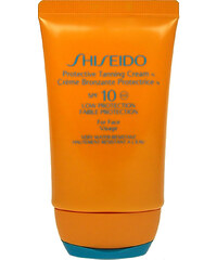 Shiseido 10 Protective Tanning Cream SPF10 50ml Kosmetika na opalování W Krém na opalování obličeje
