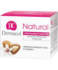 Dermacol Natural Mandlový Noční Krém 50ml Noční krém na suchou pleť W kelímek