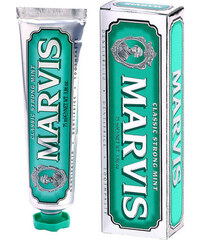 Marvis Toothpaste Classic Strong Mint 75ml Zubní pasta U Zubní pasta
