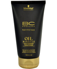 Schwarzkopf BC Oil Miracle Gold Shimmer Conditioner Thick Hair 150ml Kondicionér na nepoddajné, vlnité vlasy W Pro husté vlasy