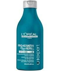 L´Oréal Paris Expert Pro-Keratin Refill Shampoo 250ml Šampon na poškozené, barvené vlasy W Šampon pro oslabené vlasy