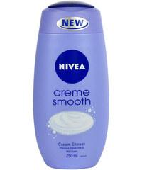 Nivea Creme Smooth Cream Shower 250ml Sprchový gel W Pro hebkou a jemnou pokožku