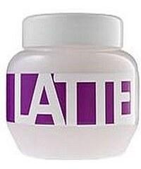 Kallos Latte Hair Mask 275ml Maska na vlasy W Maska pro chemicky poškozené vlasy