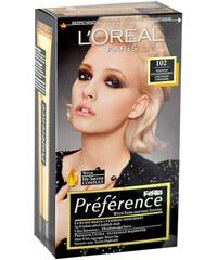 L´Oréal Paris Préférence Féria Hair Colour Barva na vlasy W Barva na vlasy - Odstín 102 Iridescent Pearl Blonde