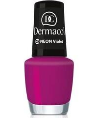 Dermacol Neon Polish 5ml Lak na nehty W - Odstín 17 kiwi