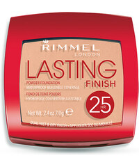 Rimmel London Lasting Finish 25h Powder Foundation 7g Make-up W - Odstín 001 Light Porcelain