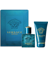 Versace Eros EDT dárková sada M - Edt 30ml + 50ml sprchový gel