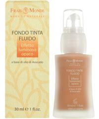 Frais Monde Make Up Naturale Fluid Foundation 30ml Make-up W Pro rozjasněnou, matnou pleť - Odstín 4