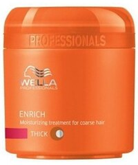 Wella Enrich Mask Thick Hair 150ml Maska na vlasy W Maska pro silné vlasy