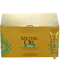 L´Oréal Paris Mythic Oil Oil Bar Pre-Shampoo Concentrate dárková sada W - 15x12ml Single Dose Pro všechny typy vlasů - 15 ampulí