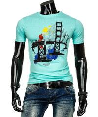 streetIN Pánské triko - zelená Velikost: XL