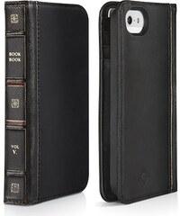Pouzdro / kryt pro Apple iPhone 5 / 5S / SE - TwelveSouth BookBook, černý