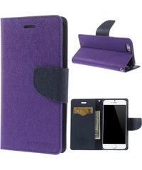 Pouzdro / kryt pro Apple iPhone 6 / 6S - Mercury Fancy Diary, fialovomodrý - VÝPRODEJ