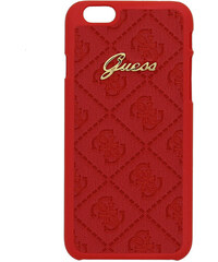Pouzdro / kryt pro Apple iPhone 6 / 6S - Guess, Scarlet Back Red