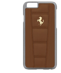 Pouzdro / kryt pro Apple iPhone 6 / 6S - Ferrari, 458 Back Camel Gold