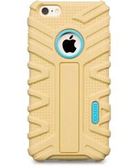 Pouzdro / kryt pro Apple iPhone 6 Plus / 6S Plus - Hoco, Moving Shock Gold - VÝPRODEJ