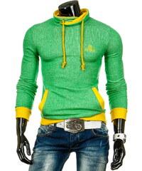 streetIN Pánská mikina - zelená Velikost: XL