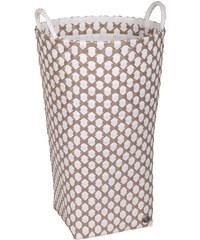 Koš na prádlo DIJON Handed by Barva: Bílá / béžová