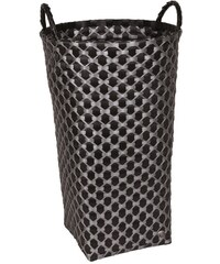Koš na prádlo DIJON Handed by Barva: Černá / stříbrná