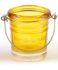 Svícen na votivní svíčku žlutý Yankee Candle