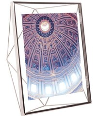 Fotorámeček PRISMA 20x25 cm Umbra Barva: Stříbrná