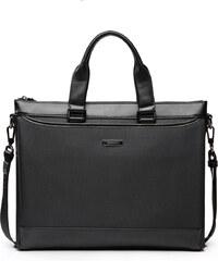 Pánská textilní taška na počítač Sammons Canvas černá