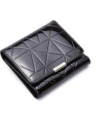 Malá dámská kožená peněženka Nucelle černá