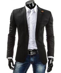 streetIN Pánské sako - černá Velikost: S