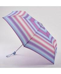 Fulton Dámský skládací deštník Superslim 2 - Sun Stripe