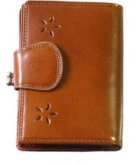 Katana Dámská kožená peněženka - hnědá
