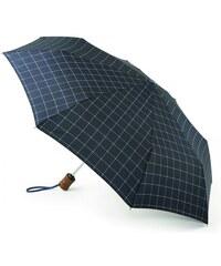 Pánský skládací deštník FULTON Hoxton 2, Window Pane Check