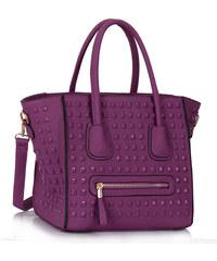 LS fashion LS dámská kabelka 0288 fialová