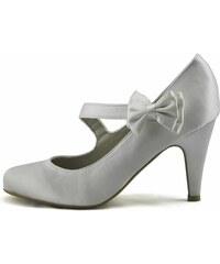 LS fashion LS dámské elegantní lodičky 0134 bílé Velikost: EUR 36