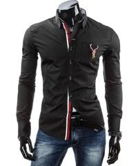 streetIN Pánská košile - černá Velikost: M