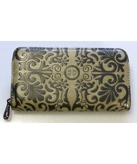 New berry Zipová elegantní peněženka - dokladovka
