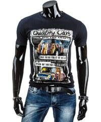 streetIN Pánské tričko - modrá Velikost: M