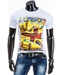 streetIN Pánské tričko - bílá Velikost: XL
