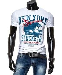 streetIN Pánské tričko - bílá Velikost: L