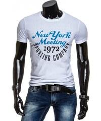 streetIN Pánské tričko - bílá Velikost: M