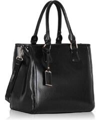 LS Fashion Kabelka LS00224 černá