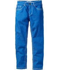 John Baner JEANSWEAR Pantalon slim fit avec effets froissés, normal bleu enfant - bonprix