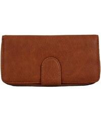 93d8fefc1f NEW BERRY Praktická dámska zipsová peňaženka hnedá FD-004