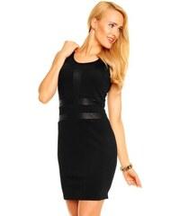 V & F Fashion Černé dámské letní šaty V&F Paris