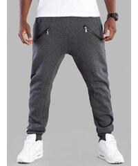 Urban Classics Zip Deep Crotch Sweatpants Charcoal TB850