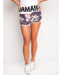 Diamante Chicks Flowers Wind Shorts Multicolor