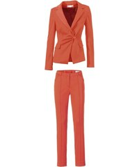 Dámský oblek oranžový