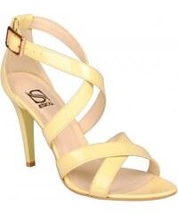 STROLL dámská společenská žlutá obuv Stroll **2674ž EUR 37